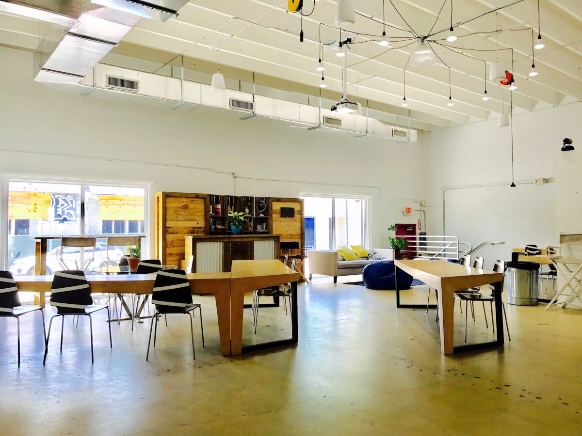 Coworking space the LAB Miami