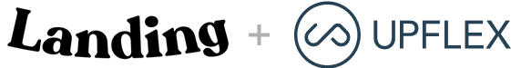 Landing & Upflex logos