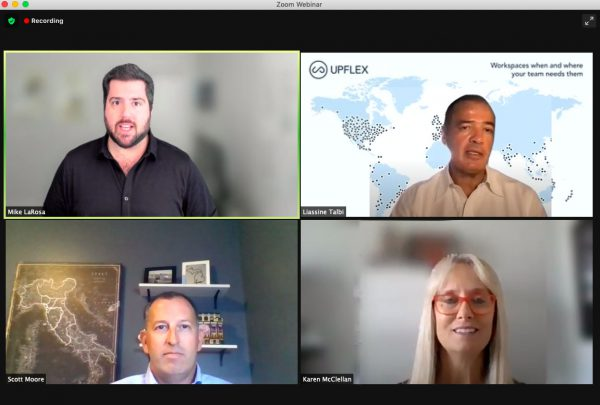 Upflex Live Recap: Schneider Electric & Colliers on the Future of the Hybrid Workplace