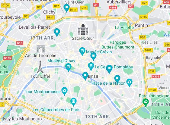 Upflex coworking spaces in Paris